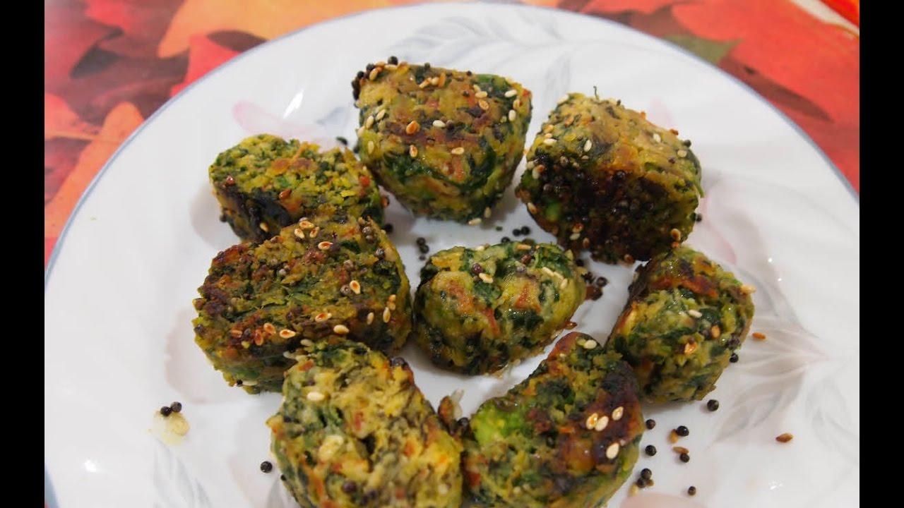 Cake Icing Recipes In Marathi: પાલક રોલ્સ